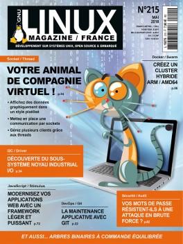 GNU/Linux Magazine 215