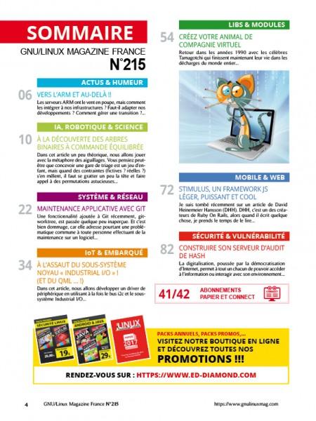 93e7dbb2131 GNU Linux Magazine 215 - LES EDITIONS DIAMOND