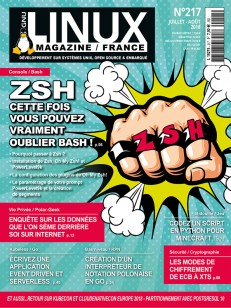 GNU/Linux Magazine 217