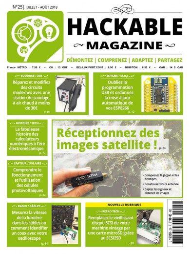 Hackable Magazine 25