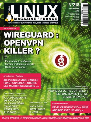 Wireguard: OpenVPN Killer?Plus simple à configurer Surface d'attaque minimale Haute performance