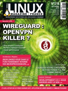 GNU/Linux Magazine 218