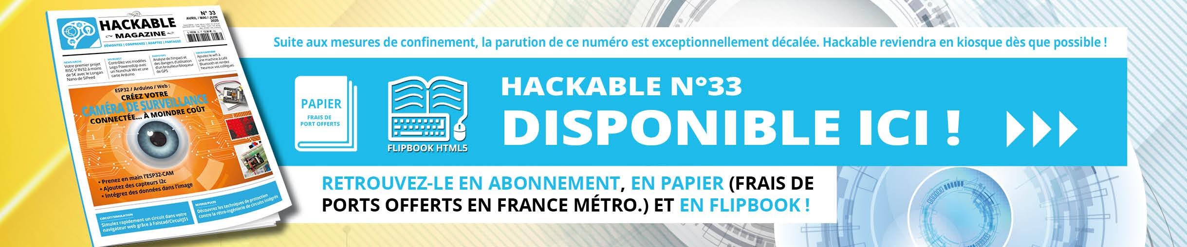 Hackable n°33