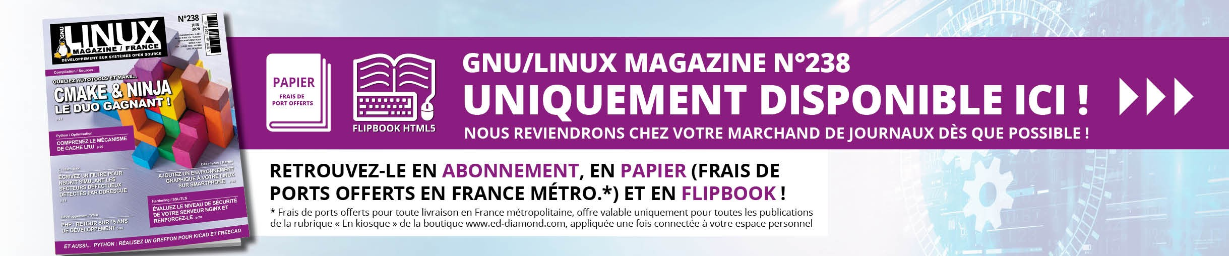 GNU/Linux Magazine n°238