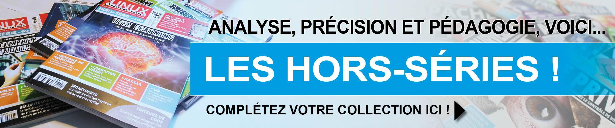 Les Hors-Séries !