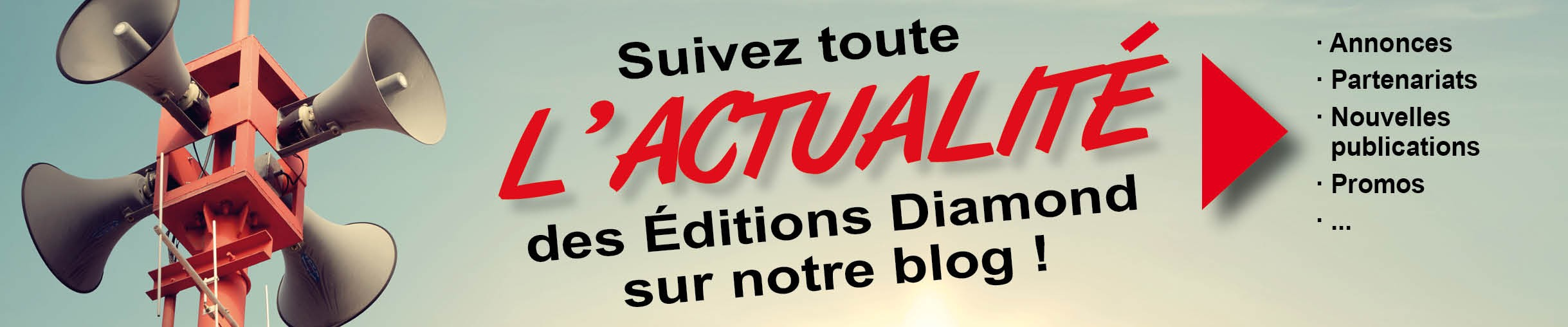 Le blog des Editions Diamond